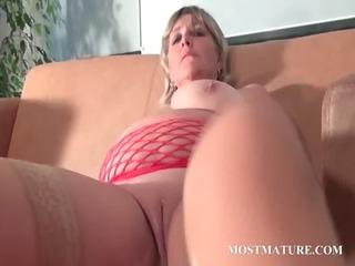 mommy dildo fucking her hungry cum-hole