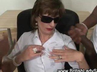 interracial mature lady sonia gets cumshots