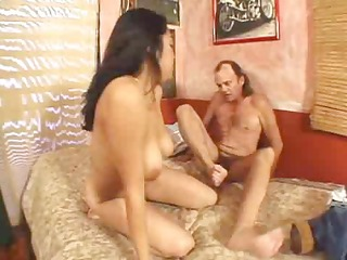 latin american beauty having a great fuck on a