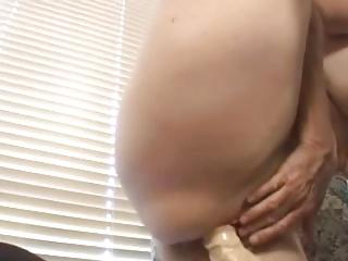 granny loves her fake penis