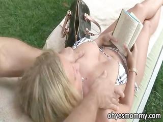 breasty stepmom devon lee has trio