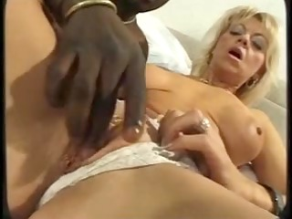 sexy older 115 mother and youthful dark knob