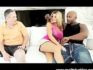 Big Tits Slut Wife Krystal Summers Interracial