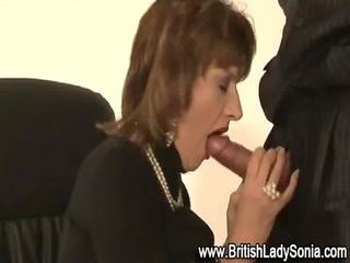 british milf fellatio ejaculation