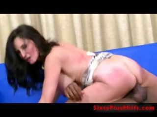 Big black one in mature pussy