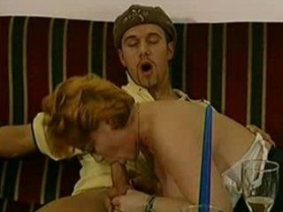 Mature red headed german woman loves the cock