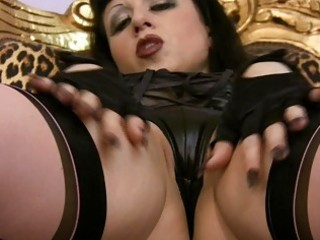 softcore masturbations of breasty milf in nylons