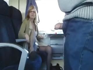 public sex in the train with busty d like to fuck