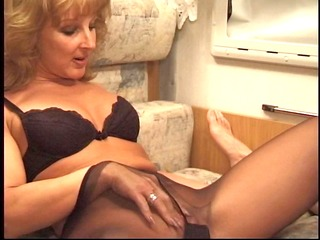 mother in pantyhose