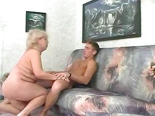 bbw blond granny fucks with youthful chap