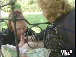 grannies take tea and cock, outdoors sex fisting