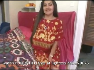 indian beauty having fun with dongs !