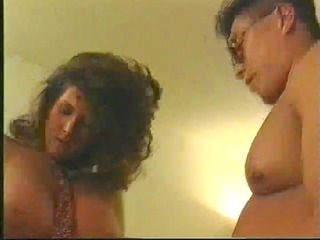 aged couple having hardcore sexy time