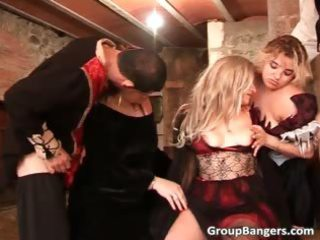 group sex act with milfs who