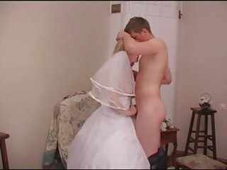 aged wedding dress -6095-