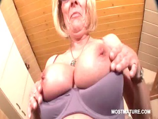 perverted mature in glasses working her sexy