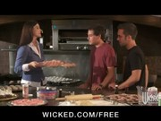 sexy soccer mom india summer copulates her