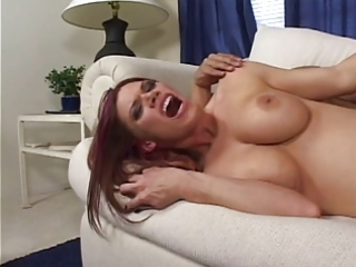 hawt milf fingers her own taut ass and juicy fur