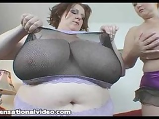two massive tit bbw wives takes on a large wang