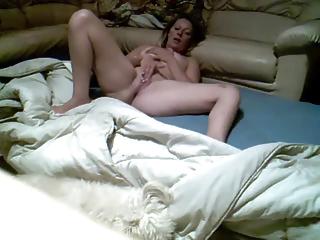 mom fingering on hidden cam