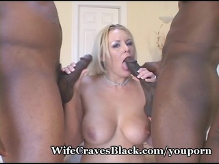 white wifey fucked by darksome paramours