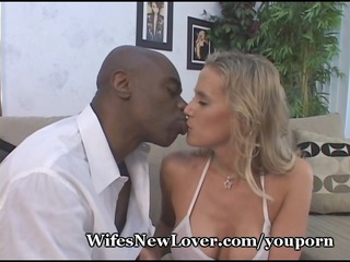 Mommys Big Orgasm From Black Lover