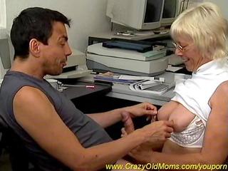 breasty mama needs hard