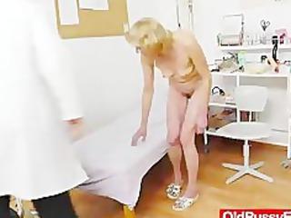 blondhaired gramma fuck aperture exam