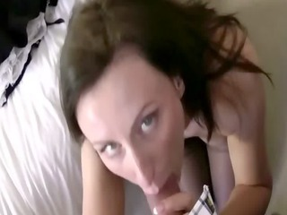 aged whore acquires engulfing and fucking down on
