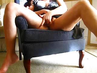lewd wife masturbates on cam