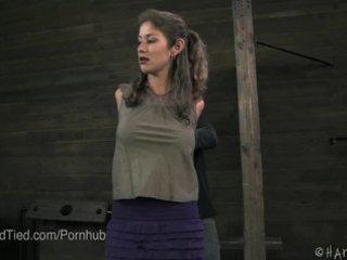milf felony receives tied up and vagina flogged