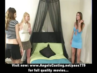 lesbo some with college girls undressing and