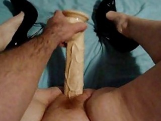 large sex-toy in my wife