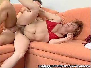 breasty old fatty fucked