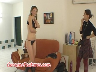 real erotic photoshoot with cute czech mum
