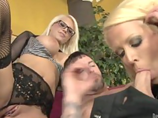lascivious mommy and her busty daughter