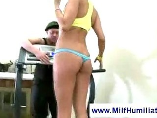 d like to fuck and a mean sports instructor