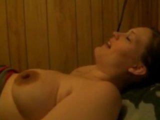 wife sucking and fucking large jock
