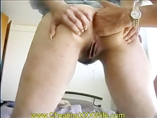 aged wife anal fisting and squirting