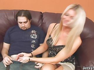 aunt christina jerks off zoes boyfriend