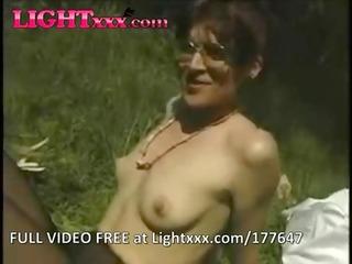 Outdoor Pantyhose Mature