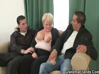 buddies pick up granny
