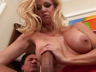 busty golden-haired d like to fuck in hawt red
