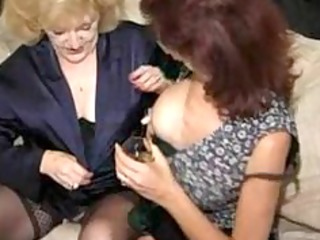 matures in nylons have a fun a gangbang