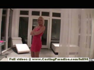 Jamey Janes stunning blonde teen babe with big