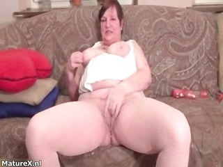 nasty fat housewive receives horny rubbing part8