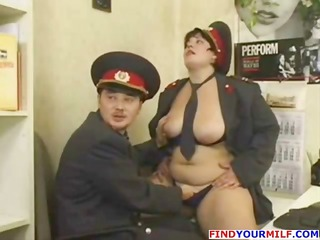 obscene russian jezebel with a corpulent vagdoes