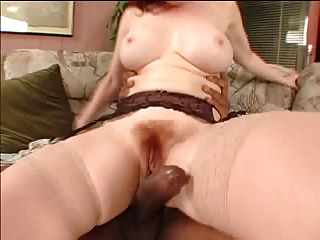 unshaved older takes bbc in both holes