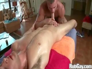 rubgay large butt massage