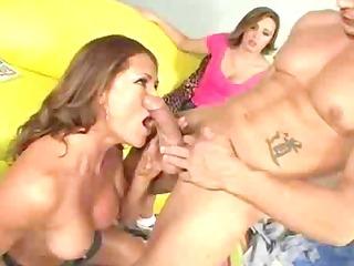 male stripper bonks the horny family